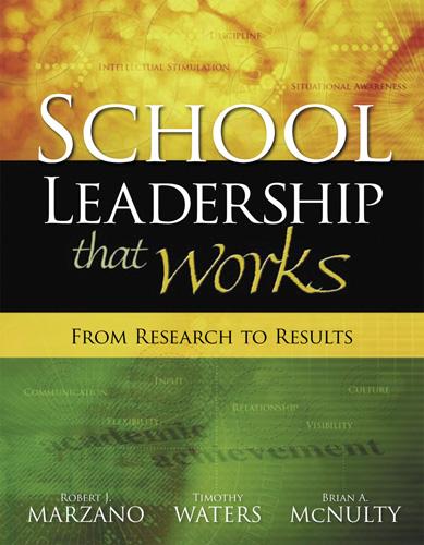 School Leadership that works cover
